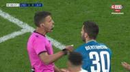 VÍDEO: lance muito polémico em Lyon e a Juventus pede novo penálti