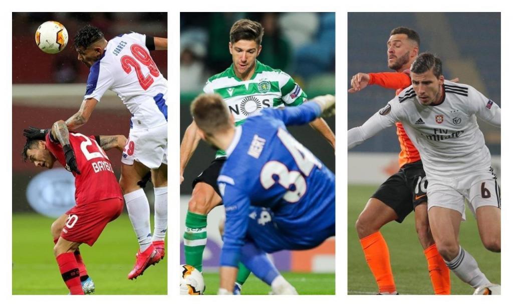 FC Porto, Sporting e Benfica na Liga Europa