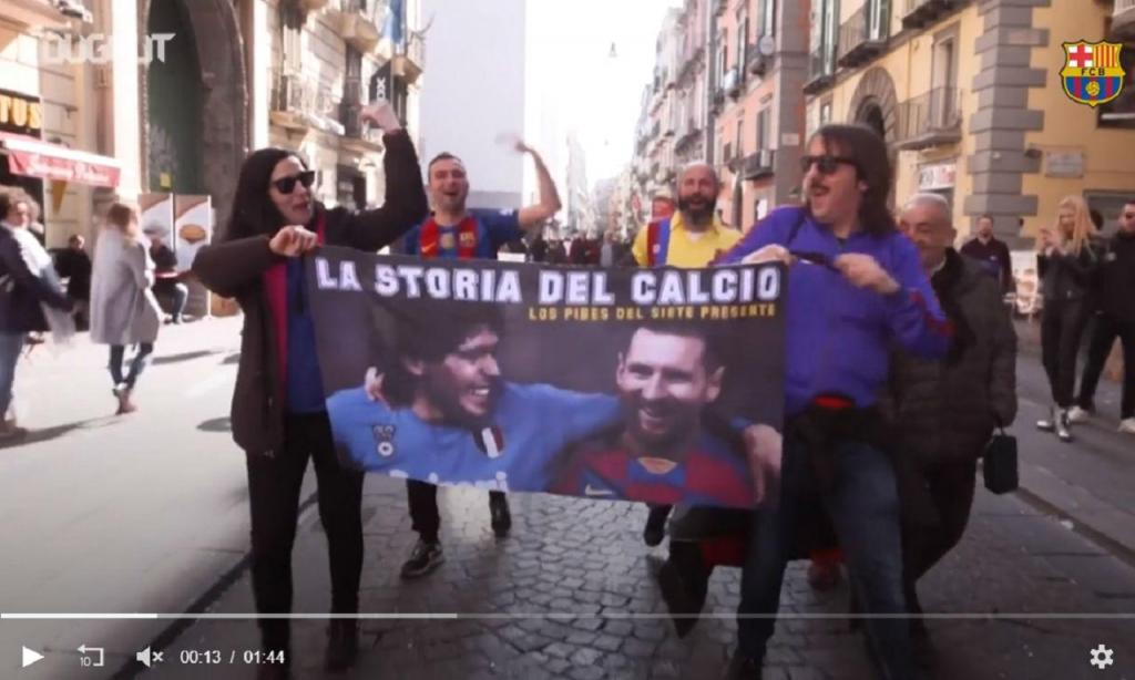 Barcelona em Nápoles