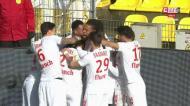 Renato Sanches assiste para o golo da vitória do Lille