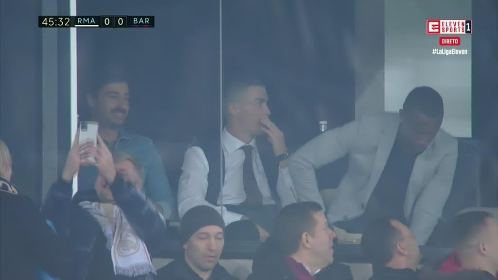 As imagens de Cristiano Ronaldo no Bernabéu