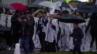 Vitória: chuva não travou marcha preta e branca em Guimarães