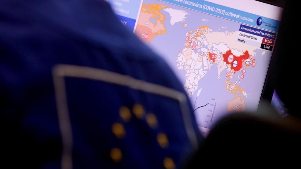 Centro de Coordenação de Resposta de Emergência (ERCC), em Bruxelas