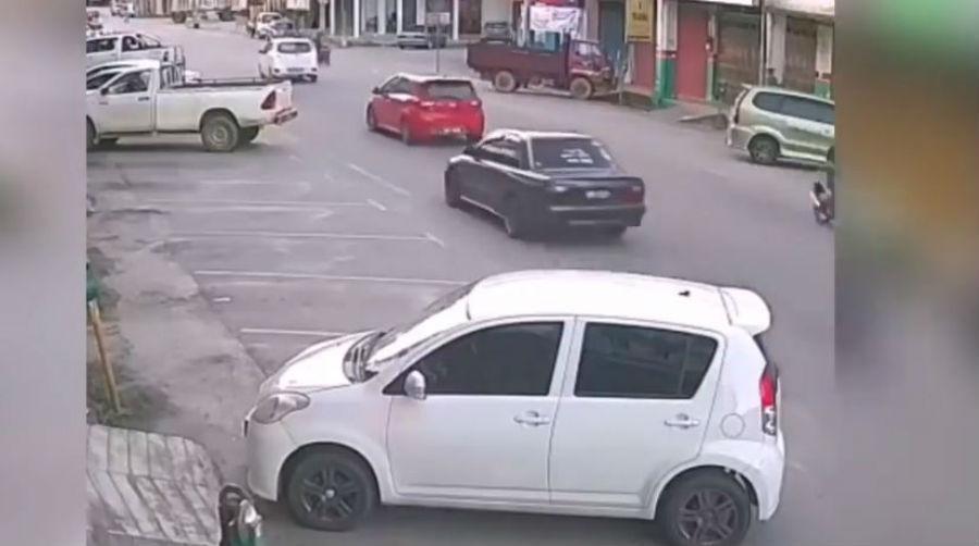Acidente na Malásia (Reprodução Youtube)