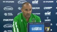 Silas: «Este foi o meu último jogo como treinador do Sporting»