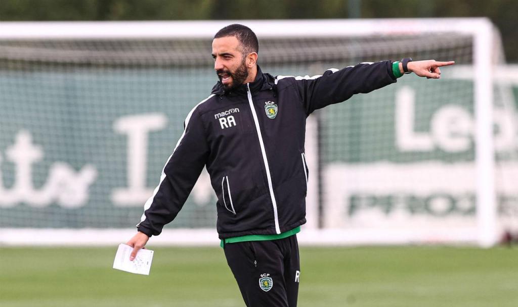 O primeiro treino de Rúben Amorim no Sporting (fotos: SCP)