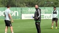 VÍDEO: o primeiro treino de Rúben Amorim em Alcochete