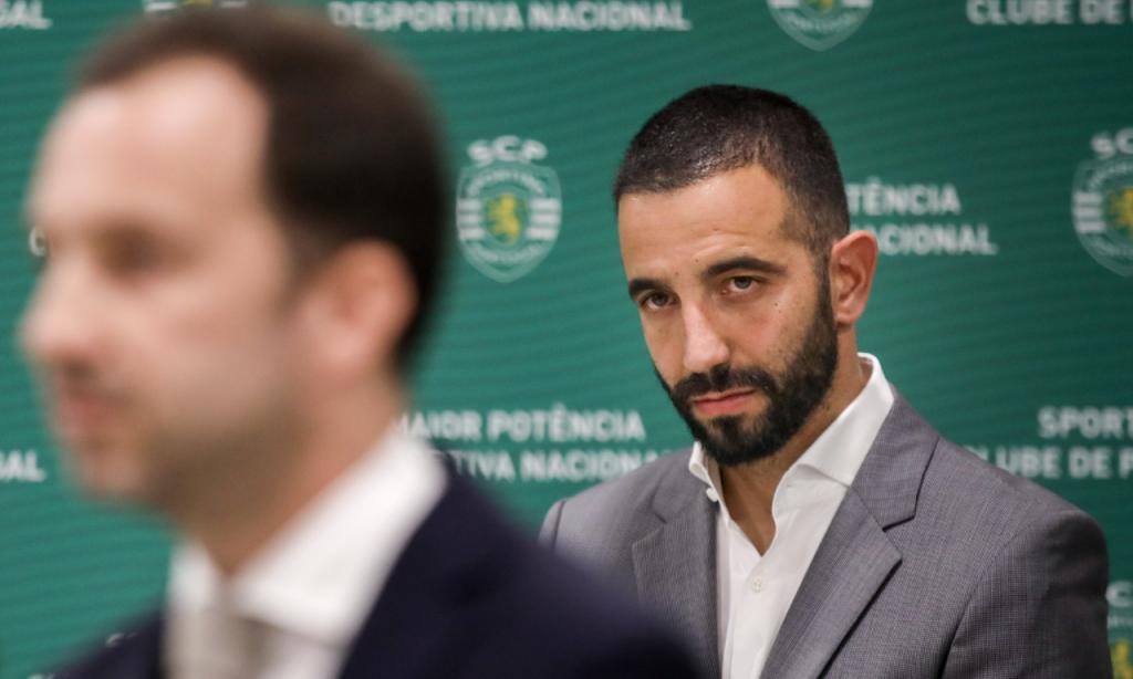 Apresentação de Rúben Amorim no Sporting (André Kosters/Lusa)