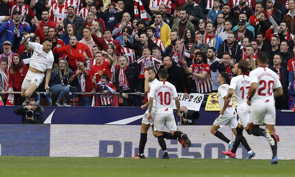 Atlético Madrid-Sevilha