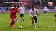 André Silva e Gonçalo Paciência goleados em Leverkusen