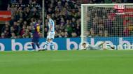 Messi falha a baliza após jogada com mais de 20 passes