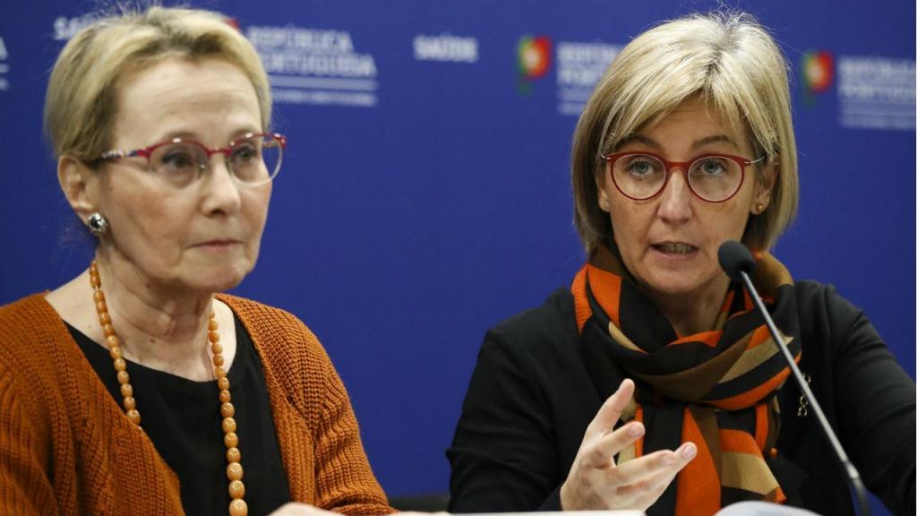 Ministra da Saúde e diretora-geral da Saúde