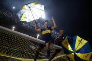 Boca Juniors campeão (EPA/JUAN IGNACIO RONCORONI)