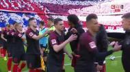 O resumo da vitória do Bayern Munique sobre o Augsburgo