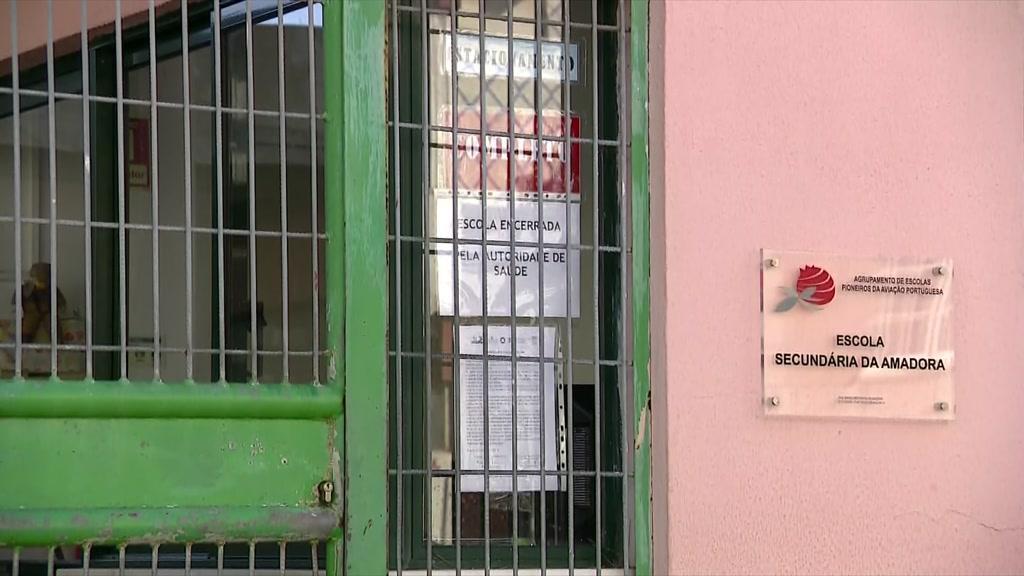 Alunos de Escolas da Amadora ficam em isolamento e com vigilância médica