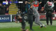 VÍDEO: golo anulado ao Atlético de Madrid no último minuto