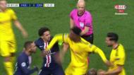 VÍDEO: confusão entre Neymar e Can acaba com vários amarelos e um vermelho