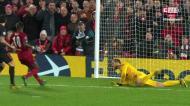 As grandes defesas de Oblak no Liverpool-Atlético Madrid num minuto