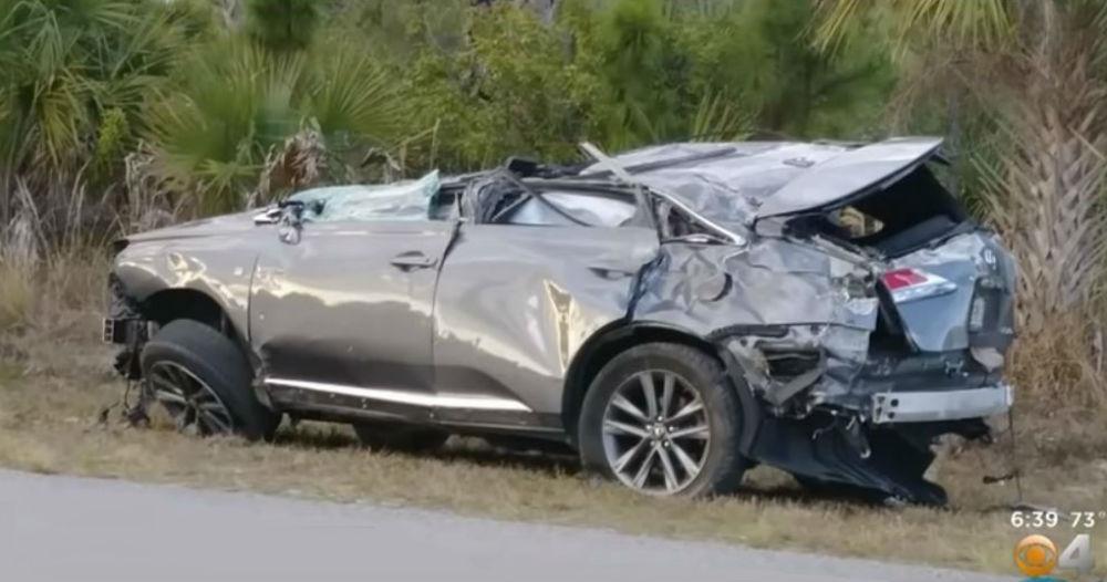 Acidente na Florida (Reprodução Youtube)
