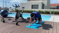 Jogadores do FC Porto prosseguem com os treinos caseiros