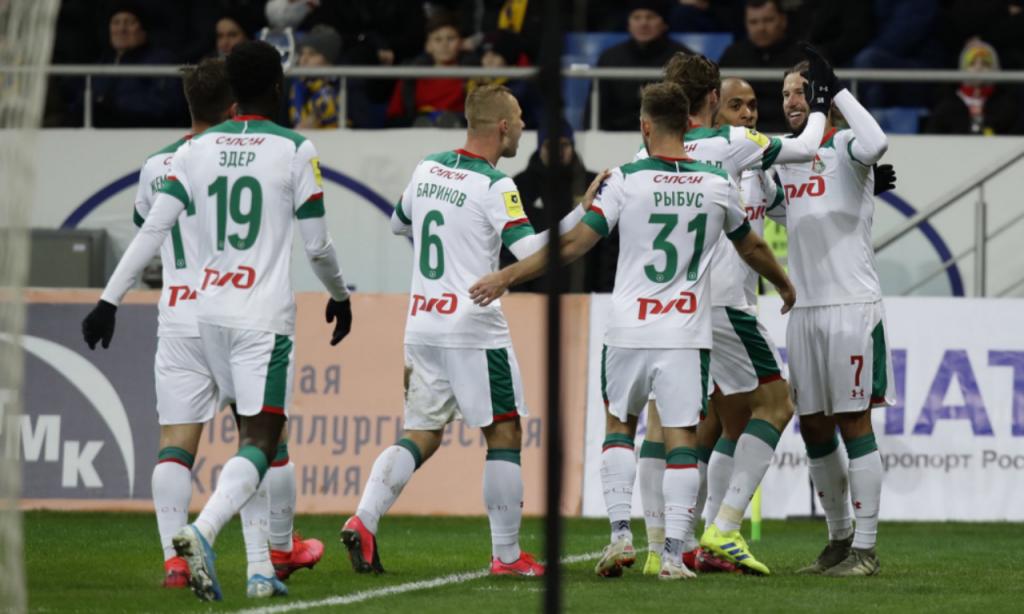 Rostov-Lokomotiv de Moscovo (twitter Lokomotiv)