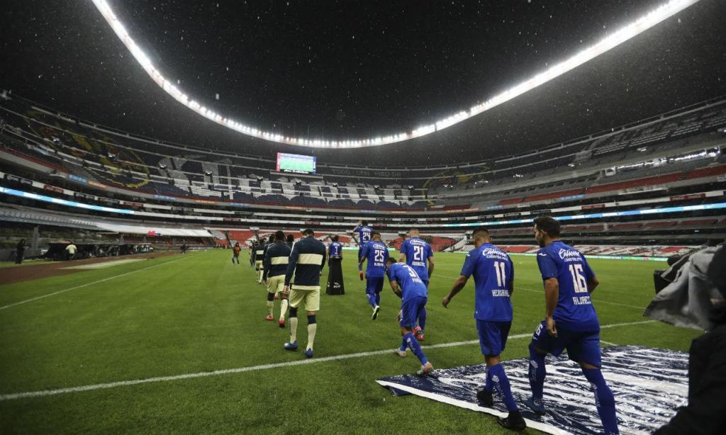 América-Cruz Azul (AP Photo/Eduardo Verdugo)