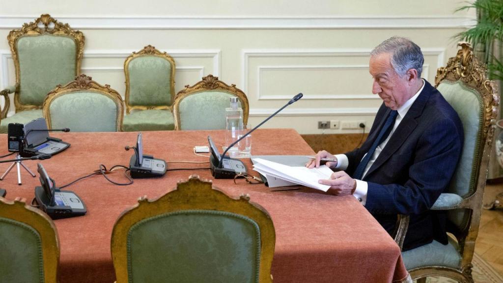 Marcelo Rebelo de Sousa no Conselho de Estado