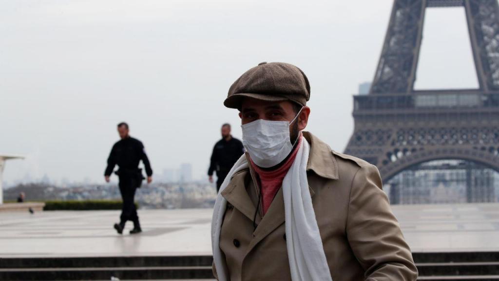 Covid-19: Paris irreconhecível depois das medidas de contenção francesas