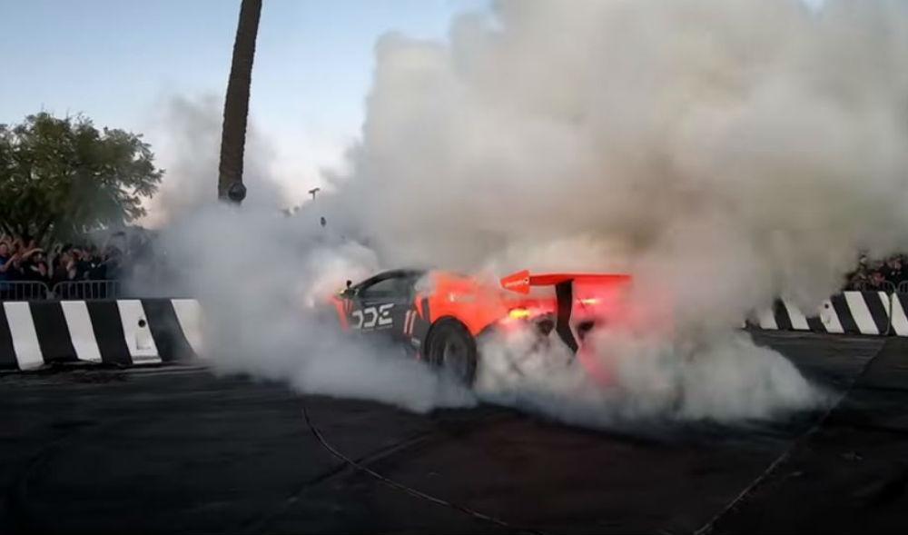 Huracán em chamas (Reprodução youtube)