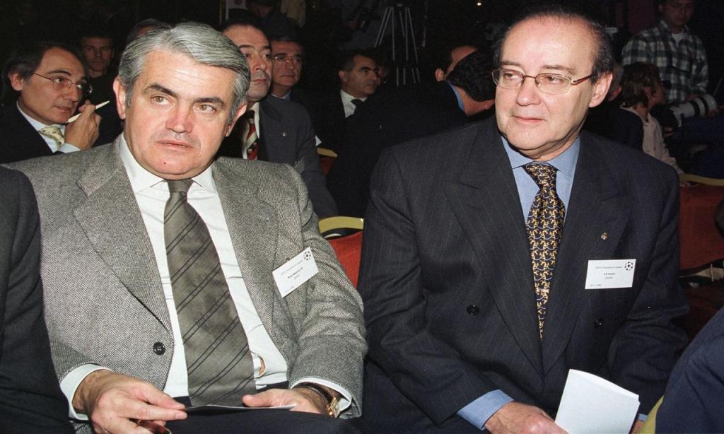 Lorenzo Sanz e Pinto da Costa (AP)