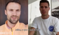 Covid-19: a mensagem do plantel do Benfica (twitter Benfica)