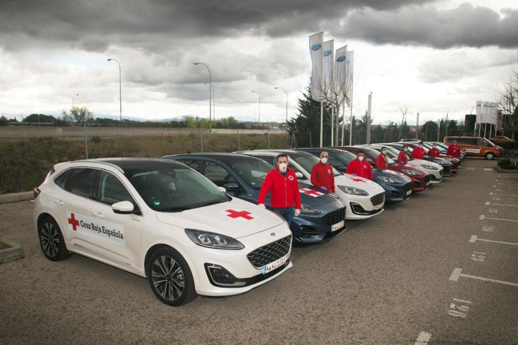 Ford cede veículos à Cruz Vermelha Espanhola