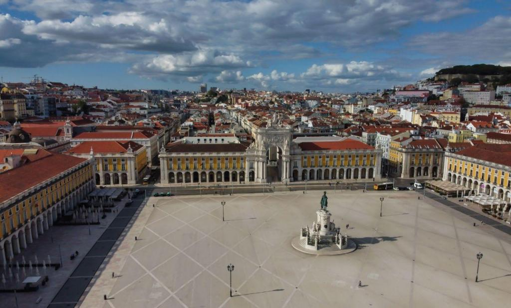 Lisboa está deserta