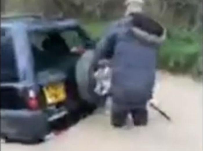 Acidente no Reino Unido (Reprodução Youtube)