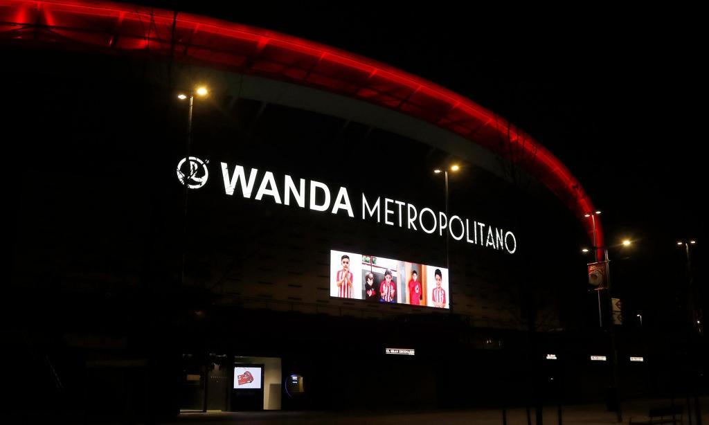 Homenagem do Wanda Metropolitano (foto: At. Madrid)