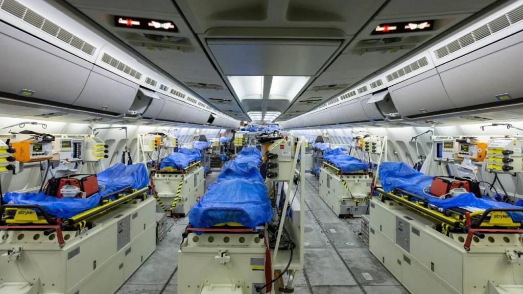 Covid-19: doentes levados para a Alemanha