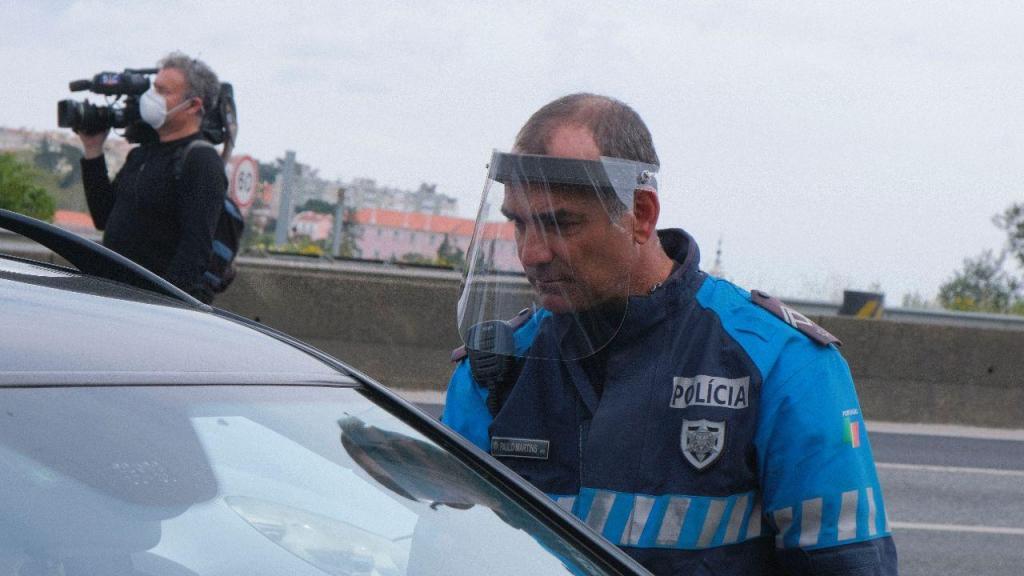 Covid-19: PSP faz operação stop em Lisboa