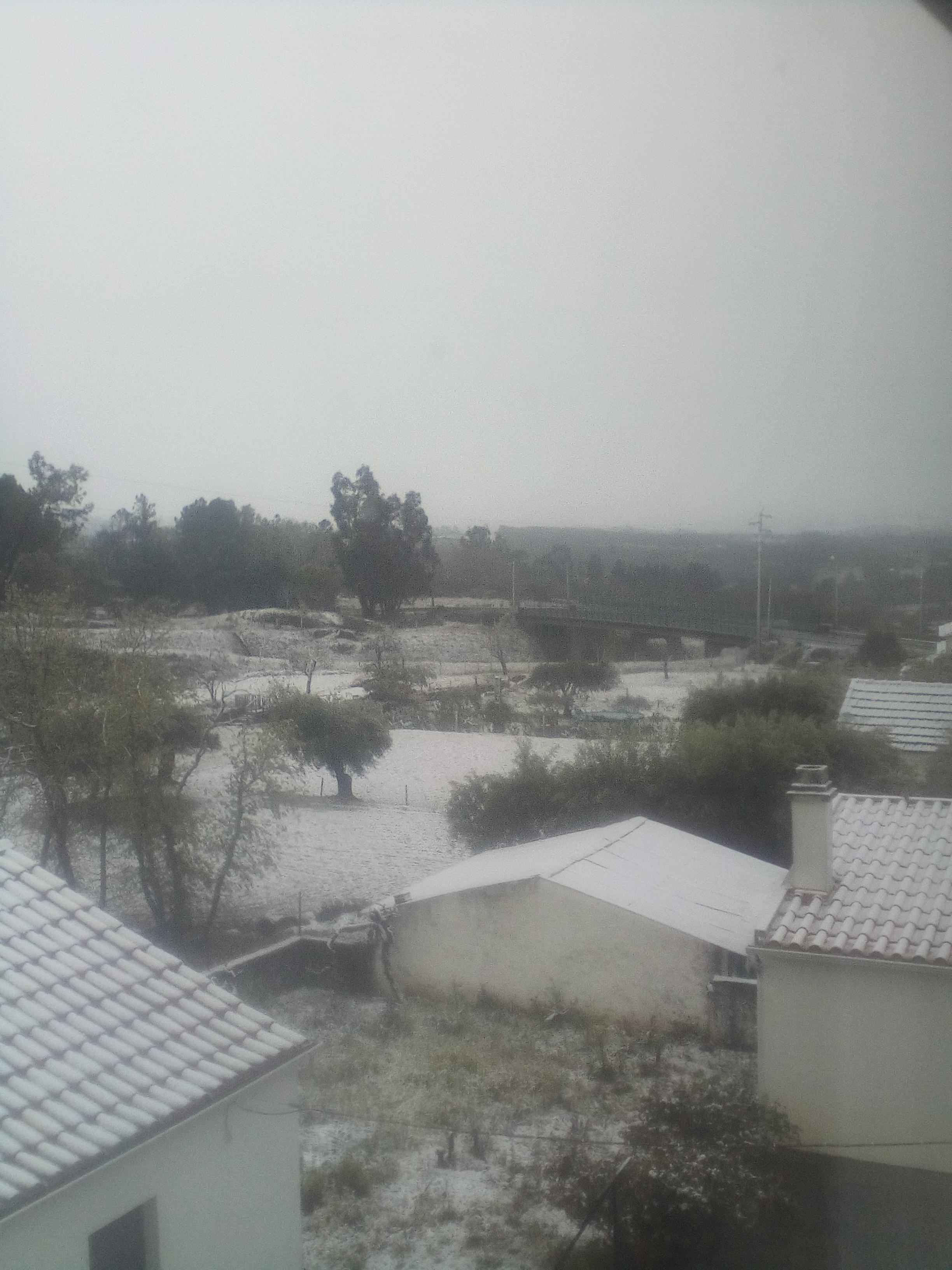 Neve em Vila da Ponte, Sernancelhe