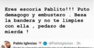 José Calvo insulta Pablo Iglesias