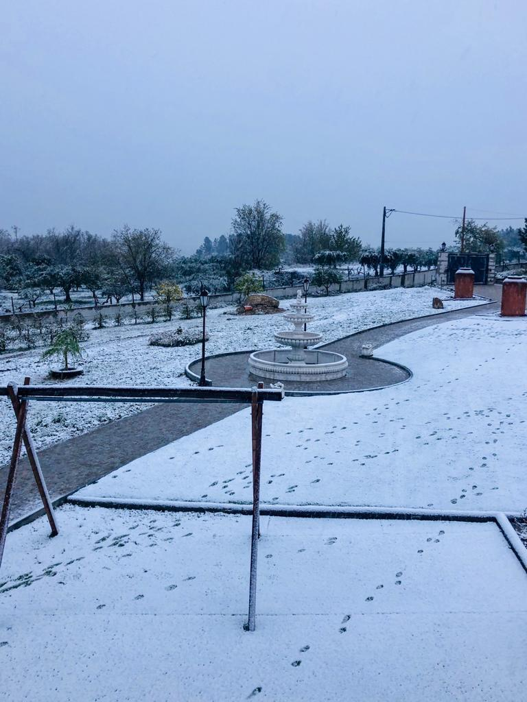 Cai neve no Centro e a Norte de Portugal