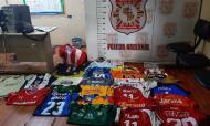 Coleção de camisolas de Edgar Benítez