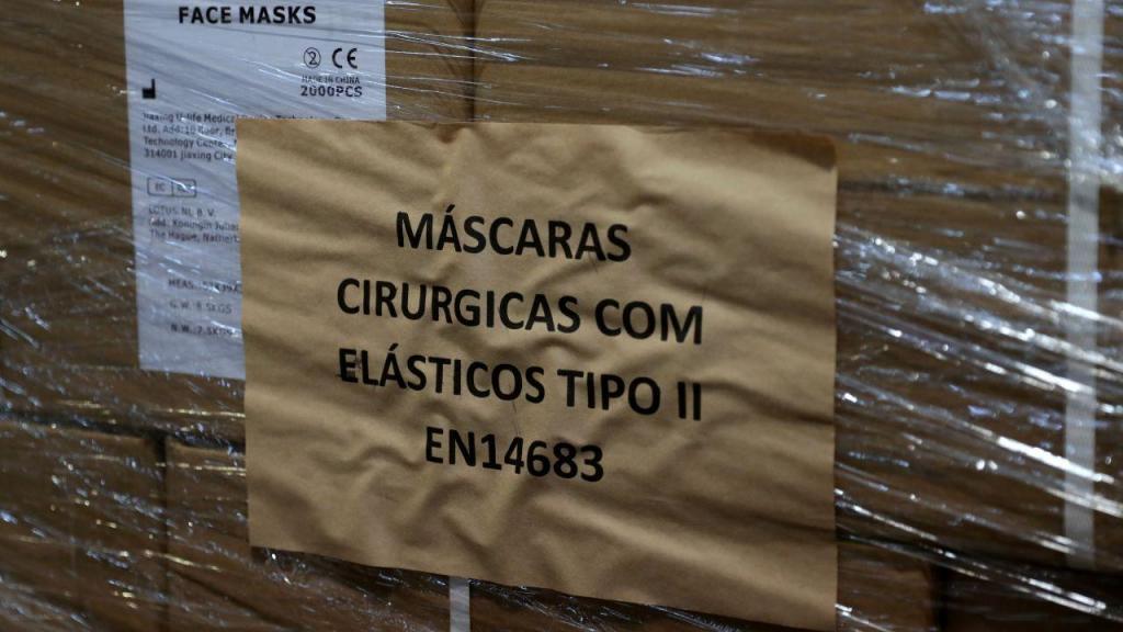 Equipamento de proteção chega a Portugal