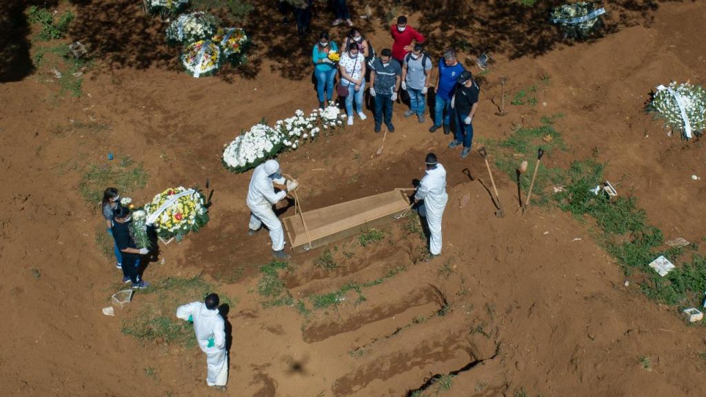 Brasil chega aos 363.211 casos da COVID-19 com 22.666 mortes