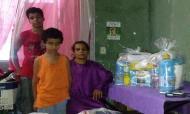 Fellipe Bastos ajuda família em dificuldades (Globo Esporte)
