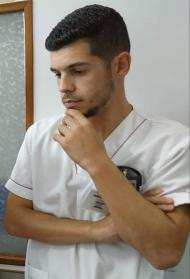 José Dias, enfermeiro e jogador do Fontinhas