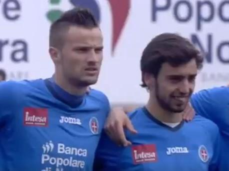 Bruno Fernandes e Seferovic no Novara (youtube)