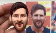 VÍDEO: o retrato perfeito de Messi feito com... plasticina (instagram)