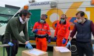 Betis distribui 300 máscaras de proteção à polícia de Sevilha