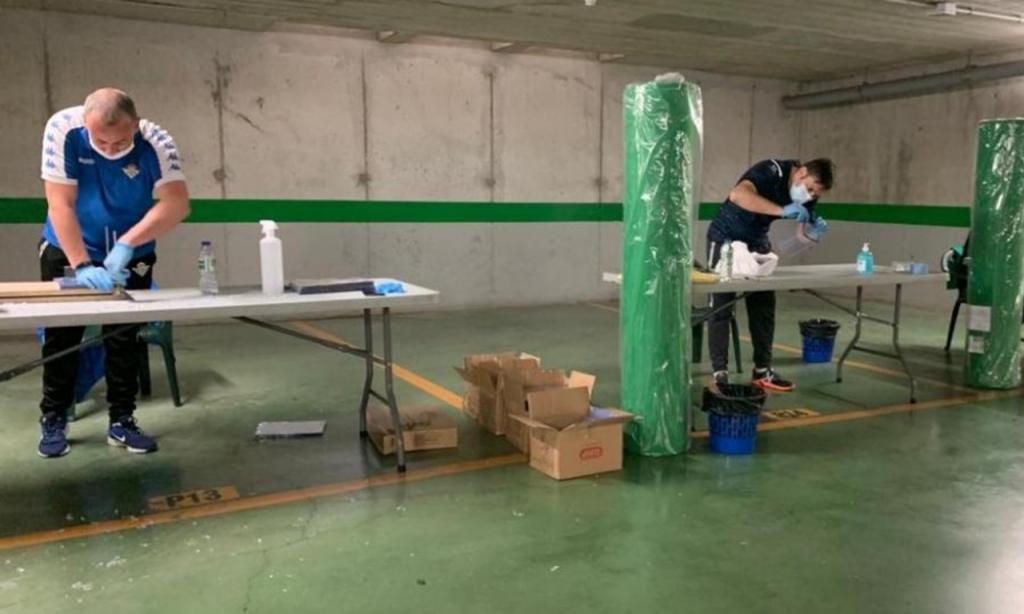 Betis promove confeção de batas de proteção para profissionais de saúde