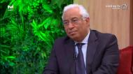 A pergunta incómoda de Goucha que tirou o sorriso a António Costa